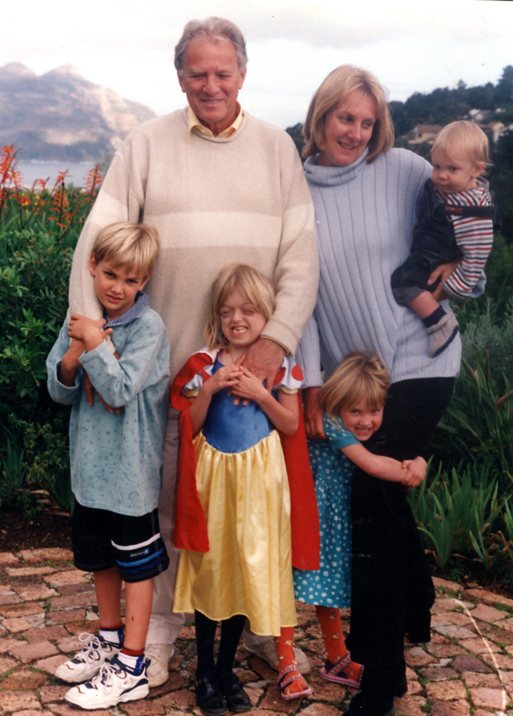 Pippa with her first husband Hal and their four children Jack, Pia, Lucy and Harry 1000