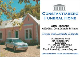 Constantiaberg Funeral Home SSB