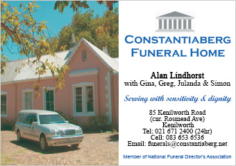 Constantiaberg Funeral Home SSB