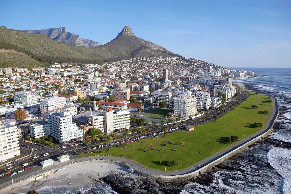 Aerial View Sea Point