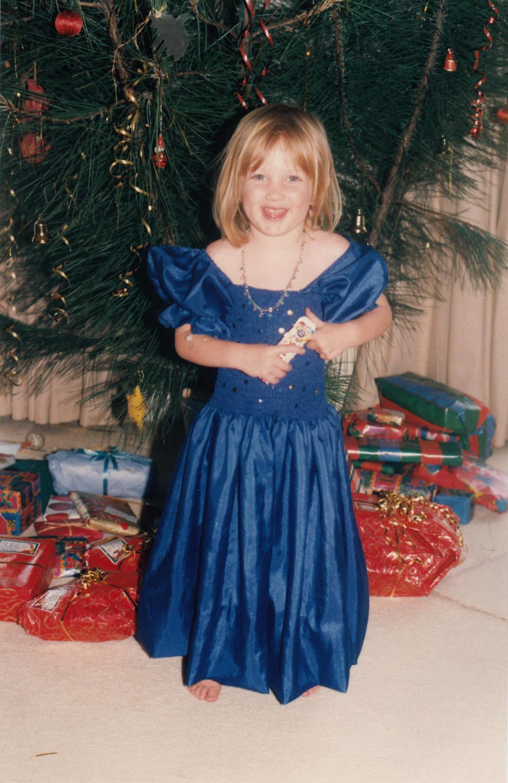 Lucy blue dress 1000