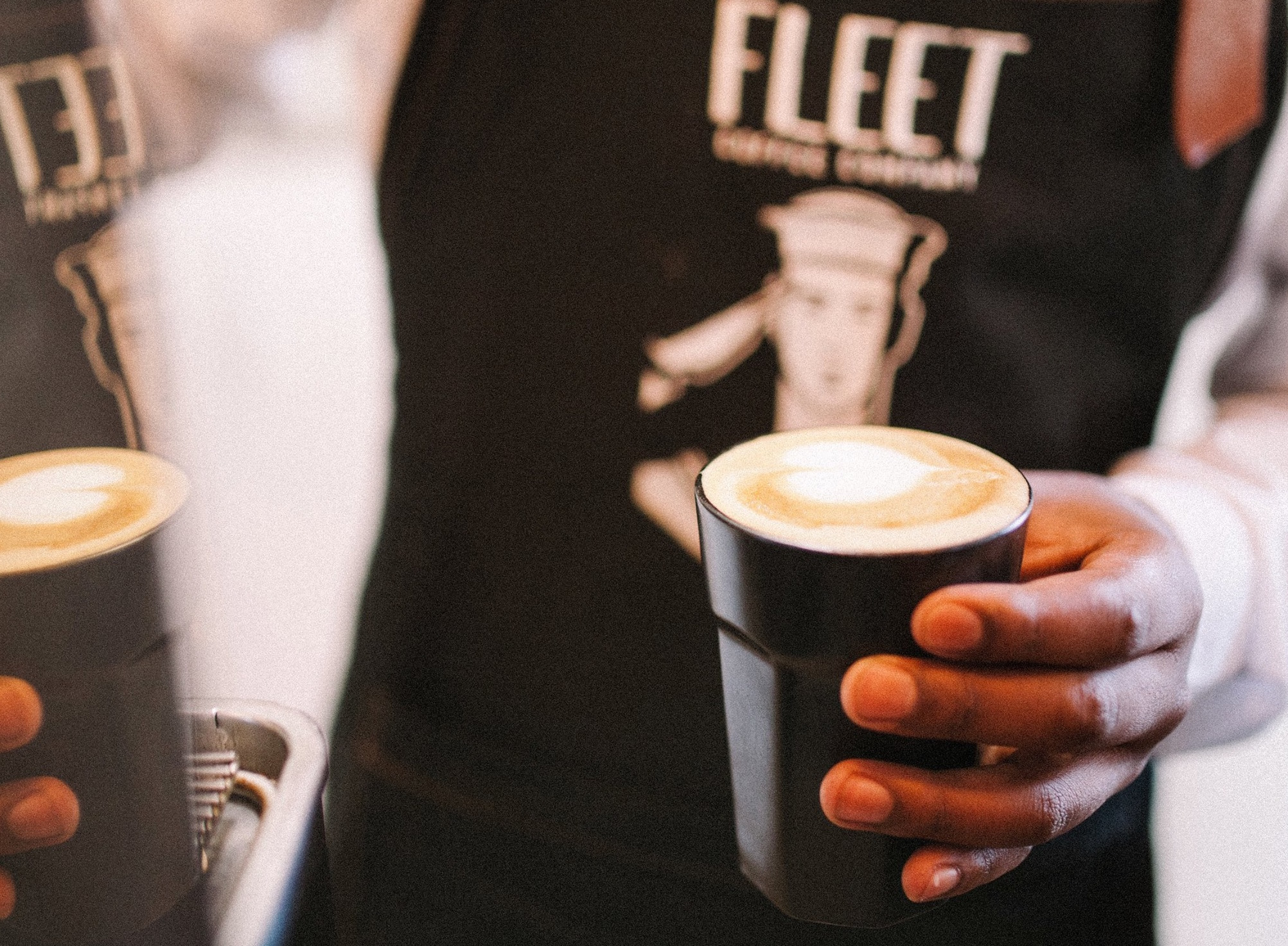 fleet coffees closeup
