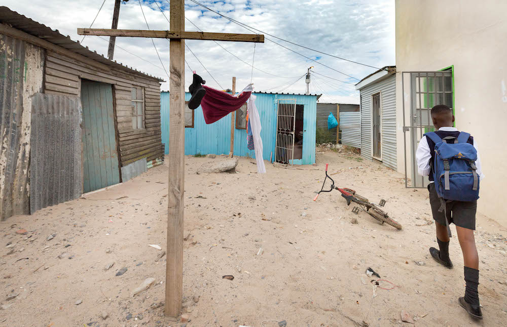 Rising From The Rubble Hope At Last For Shack Dwellers
