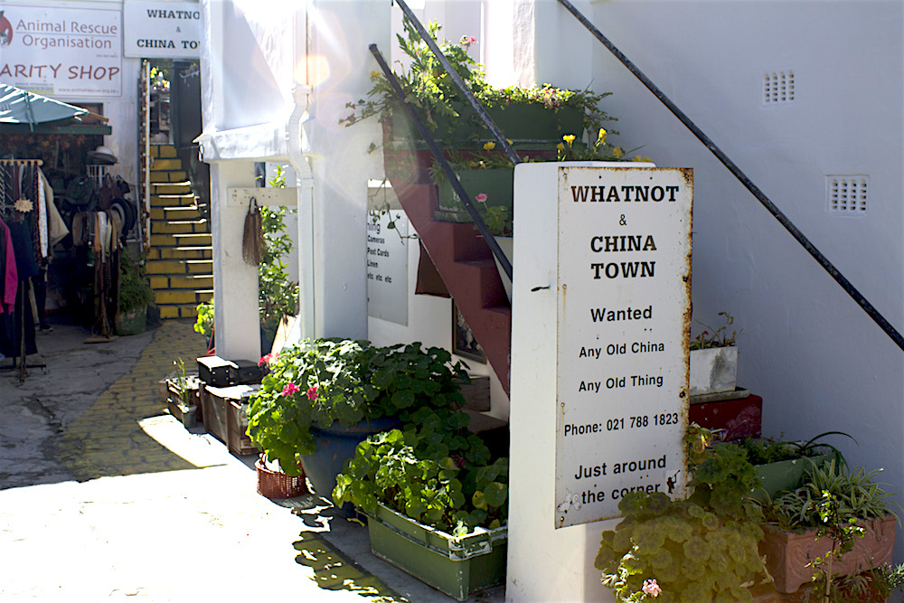 Kalk Bay 2 RP salem whatnot and china town notice