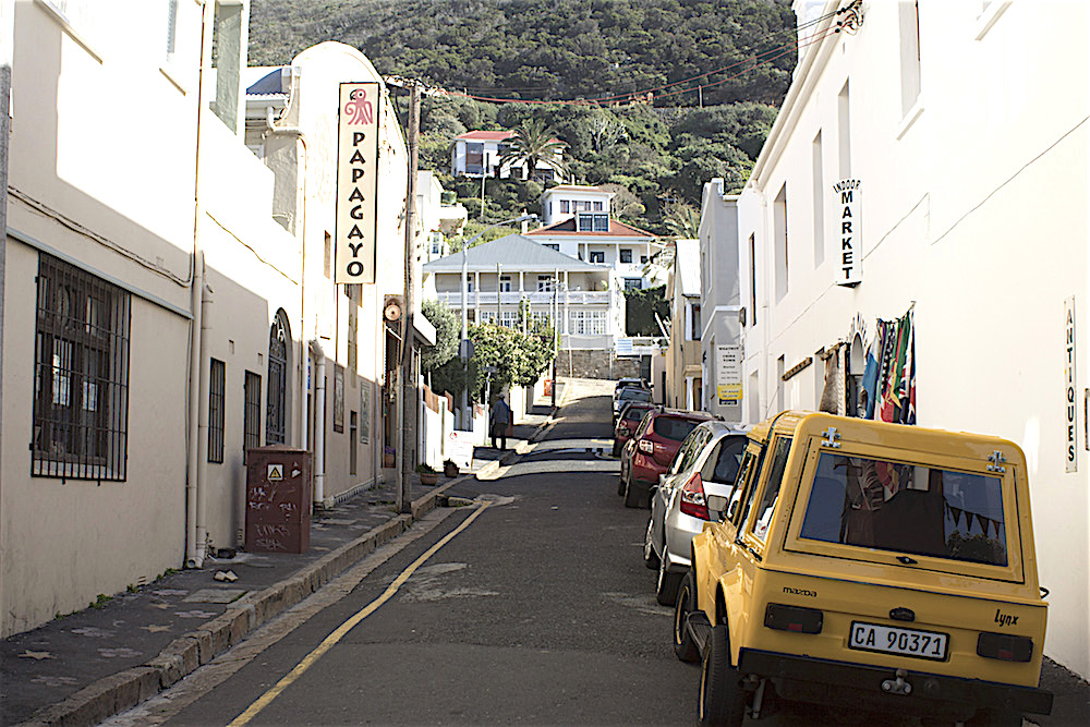 Kalk Bay 2 RP salem yellow car